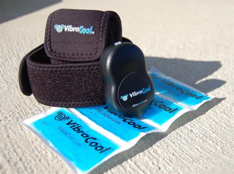שקיות קירור ויבראקול (VibraCool) - טיפול באמצעות עיסוי וקרח