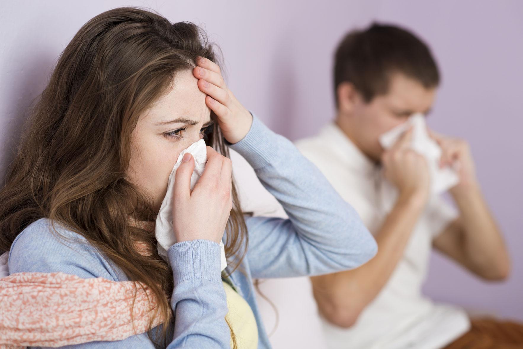 טיפול בהצטננות וסינוסיטיס באמצעות FLO